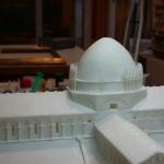 Basilica de Pisa en alabastro. Desmontaje completo y reconstrucion de piezas faltantes