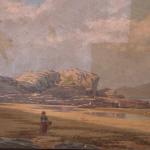 BARROETA, Juan de. Óleo sobre lienzo.Playa de Ereaga. En proceso de limpieza.