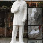 Estatua del marino Mercante en Plentzia.