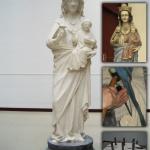 Réplica de la Virgen Blanca. Vitoria.