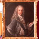 Óleo sobre lienzo. Retrato de Luis I