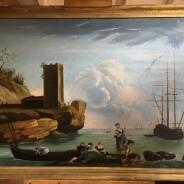 "GOYA, Francisco de (1746-1828). ""Marina de Trafalgar"" (h.1797)"